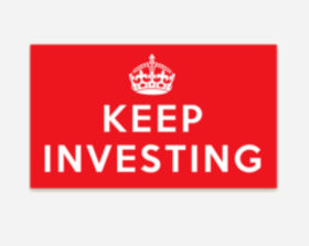 keep investing sticker
